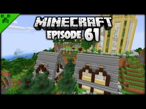 3 Plots = 3 NEW Minecraft Builds!  Python's World Minecraft Survival Let's Play  Episode 61
