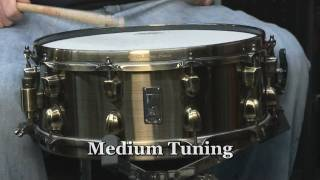 """Gambar cover Mapex Black Panther """"Brass Cat"""" 5.5x14 Snare Drum"""