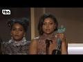 Hidden Figures Cast: Acceptance Speech | 23rd Annual SAG Awards | TBS