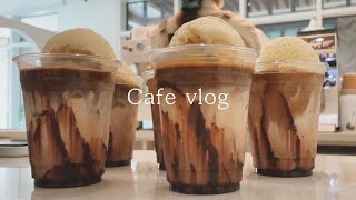 cafe vlog \ I can't believe pe…