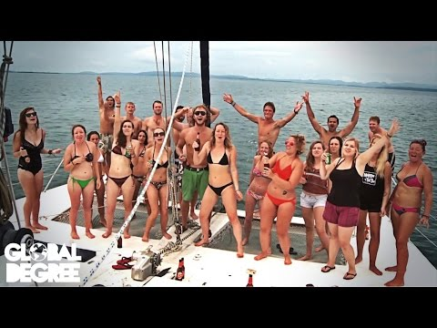 Panama - Yacht Party & Making Love to A Coconut Tree