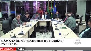 SESSÃO CÂMARA DE RUSSAS 20 11 2018