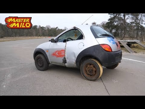 FWD Drifting On Steel Rear Tires (How To)