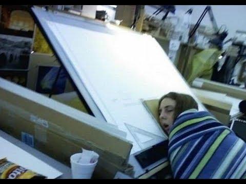 Прикольные картинки Спящие на работе