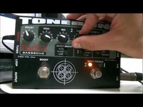 Radial Bassbone Tonebone - Demo