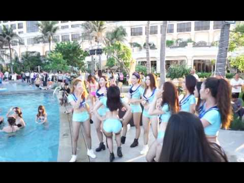MTV NEWS - RIO POOL PARTY 3 at THE GRAND HO TRAM on 16 May 2015