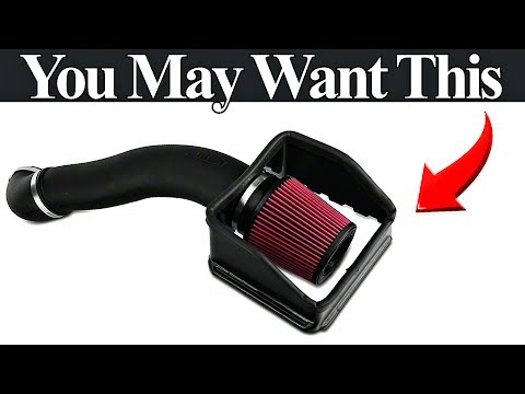 Do Cold Air Intakes Work? Watch and Find Out