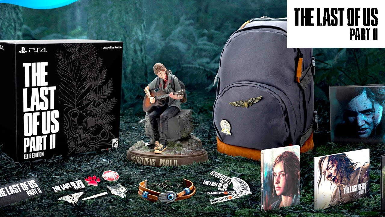 "The Last of Us 2 Collector's Edition includes a 12"" Ellie statue"