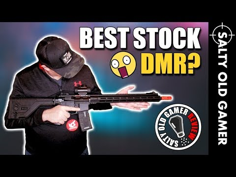 ICS CXP MMR DMR Airsoft Unboxing and Review   SaltyOldGamer Airsoft Review
