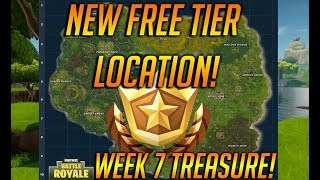 Follow The TREASURE MAP Found In Retail Row Location In Fortnite Battle Royale! FREE TIER!