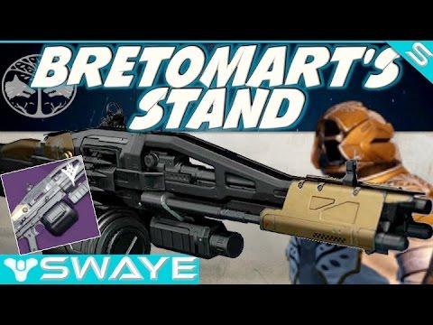 Destiny TTK: Bretomart's Stand Review Iron Banner Machine ...