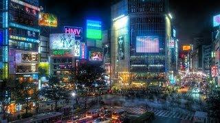 Shibuya, Tokyo 渋谷区  / Nick In Japan' 2003 (Movie 1)