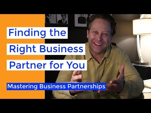 Finding the Right Business Partner | Business Partnership Mastery