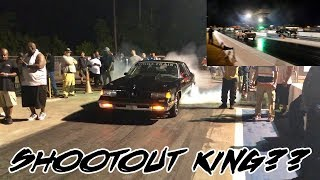 A HOLLEY EFI VS FUELTECH BATTLE! IS NIGHT TRAIN 442 THE SHOOTOUT KING? $6500 OUTLAW STREET CAR CLASS