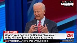 Joe Biden- Saudi Arabia and Human Rights