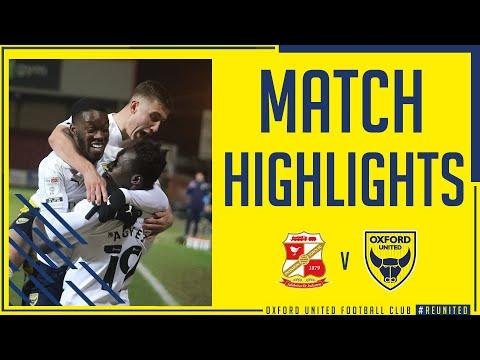 Swindon Oxford Utd Goals And Highlights