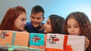 Получили YouBox за ЛУЧШИЙ РИСУНОК!!!