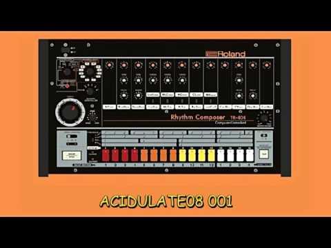 Acidulate08 001 (Acid Tech House & Techno Mix - May 2017)