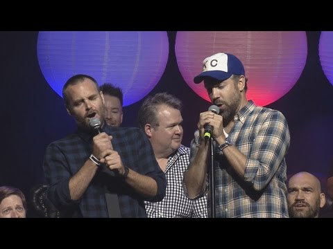 "Will Forte & Jason Sudeikis - ""I Can't Fight This Feeling...."" - Live @ Big Slick Celebrity Weekend"
