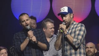 Will Forte Jason Sudeikis I Can 39 t Fight This Feeling Live Big Slick Celebrity Weekend