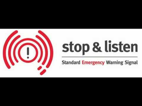 Standard Emergency Warning Signal (SEWS)