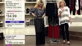 Artizan by Robin Barre Pull-On Tummy Tuck Skirt Thumbnail