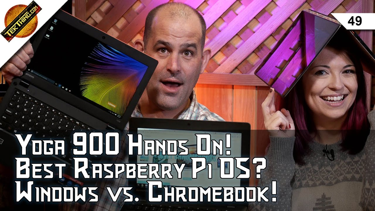 $200 Laptops Windows vs  Chromebook! Lenovo Yoga 900 Review, Best Raspberry  Pi OS, Update Windows!