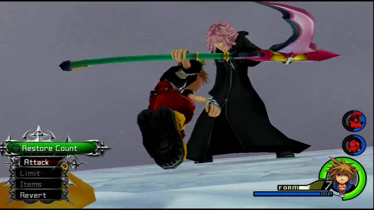 Kingdom Hearts 2 Final Mix Data Marluxia Limit Form Only/No Hacks ...