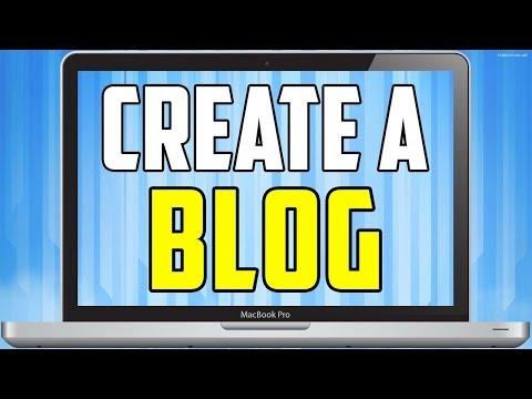 How To Create Blog