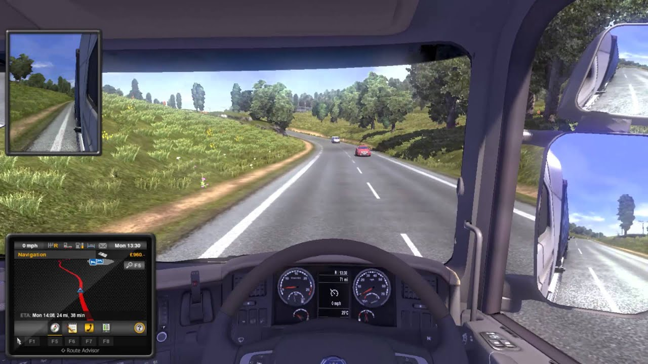 Euro Truck Simulator 2 | Mod activation in game - YouTube