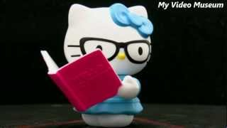 Hello Kitty Loves Reading toy 2-17-13 McDonald's Happy Meal _ My Video Museum