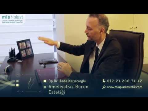 Dolgu ile Ameliyatsız Burun Estetiği - Op. Dr. Arda Katırcıoğlu
