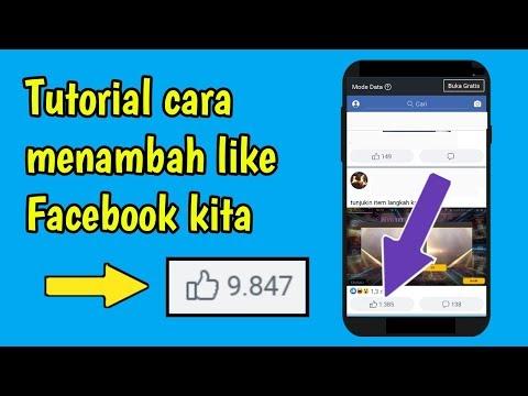 cara menambah like fb Terbaru 2019 ll Auto like