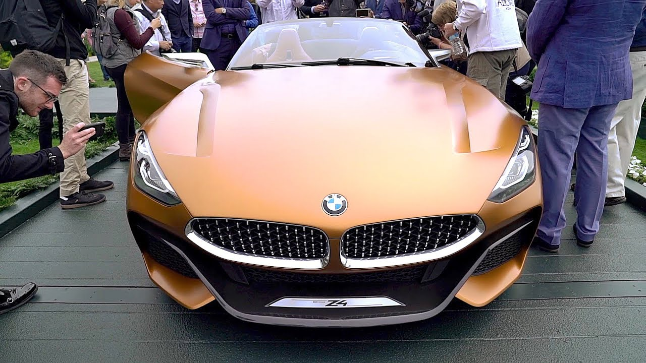 Bmw Z4 2019 Luxury Roadster Sportier More Aggressive Youtube