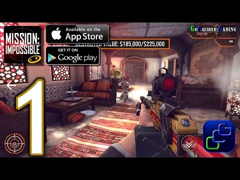 Mission Impossible: Rogue Nation Android iOS Walkthrough - Gameplay Part 1 - Morocco