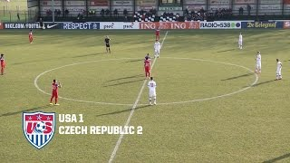 U-16 BNT vs. Czech Republic: Highlights - March 13, 2015