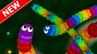 SLITHER.IO WITH INVISIBLE SNAKES! New Wormax.io Updated Slither.io Gameplay - Games Like Slither.io!