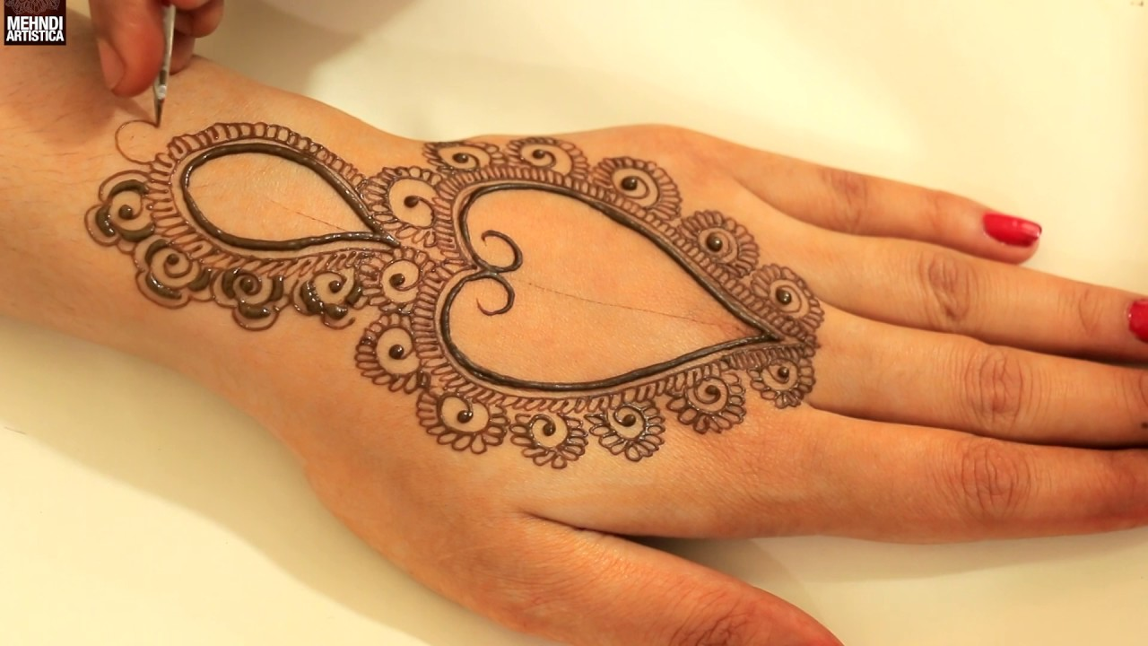 Henna Tattoo Designs For Diwali: Learn Classy Mehndi Designs For Hands