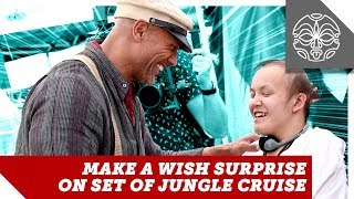 The Rock's Jungle Cruise Make-A-Wish Day