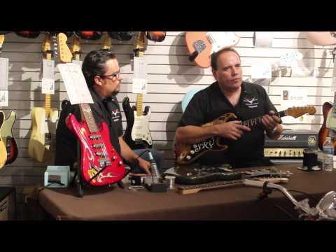 John Cruz and Joe Reynoso discuss the History of the Fender Custom Shop.