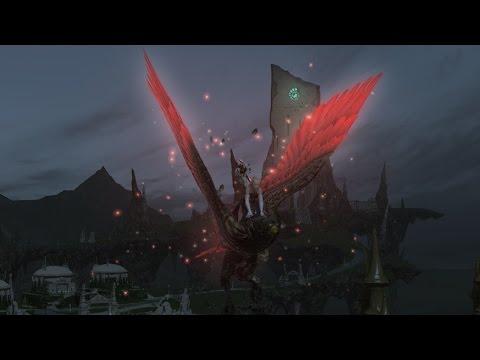 Final Fantasy XIV - Rose Lanner (Ravana extreme) mount