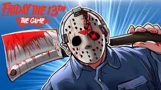 Friday The 13th - NEW JASON, MAP & COUNSELOR! (Part IV Jarvis House!)