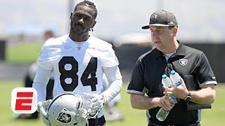 Should Antonio Brown have been allowed to play in his old helmet? | OTL