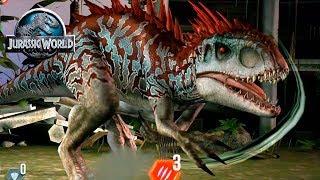 Индоминус тащит) Jurassic World The Game прохождение на русском