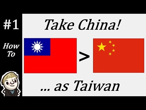 HoI4 - Modern Day - Take China as Taiwan