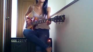 Knees/Ocean Alley cover with Electric Guitar by Saaya