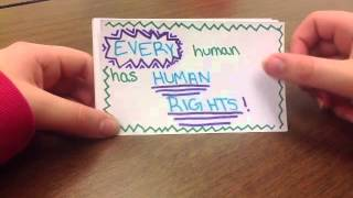 Human Rights- Slavery by Hannah Leslie and Lisa Lochner