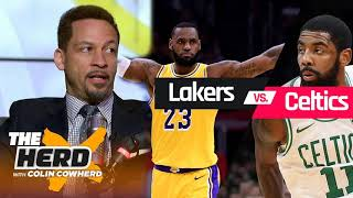 The Herd 2/8/2019 - Chris Broussard reacts to Lakers vs Celtics, Anthony Davis & NBA trade deadlin