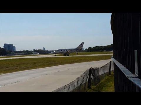 McAir Jet Bae Jetstream 32 LV-ZST departing Aeroparque