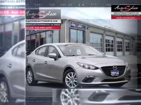 2014 Mazda Mazda3 | Auto Select Toronto | 3MZBM1V74EM123696 14MQ3G71
